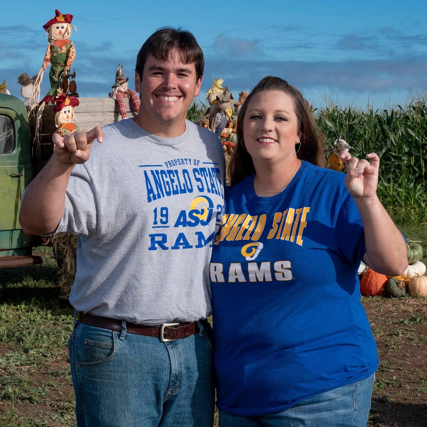 ASU alumni create quintessential fall fun at Circle S Corn Maze and Pumpkin Patchin Wall