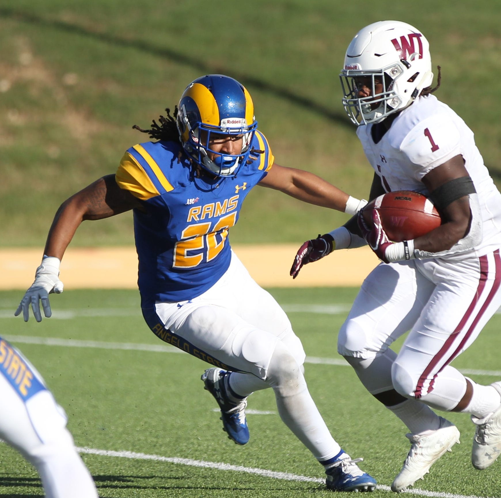 Ex-Bobcat Donavyn Jackson shines for Angelo State