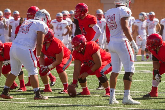 Dixie State football takes on Western Colorado Saturday, Oct. 13, 2018.