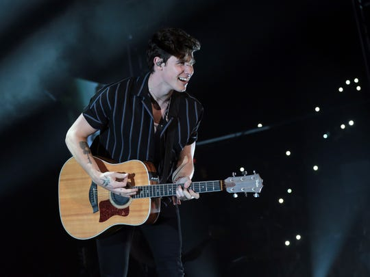 Pop heartthrob Shawn Mendes played a solo show Saturday to a sold out crowd at the Don Haskins Center.