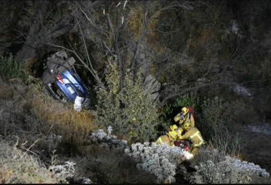 Dennison Grade crash