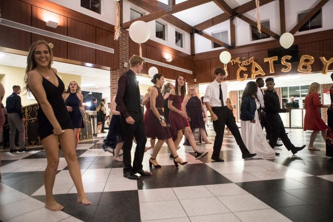 Scenes from the Appoquinimink Homecoming Dance Saturday, Oct. 13, 2018.