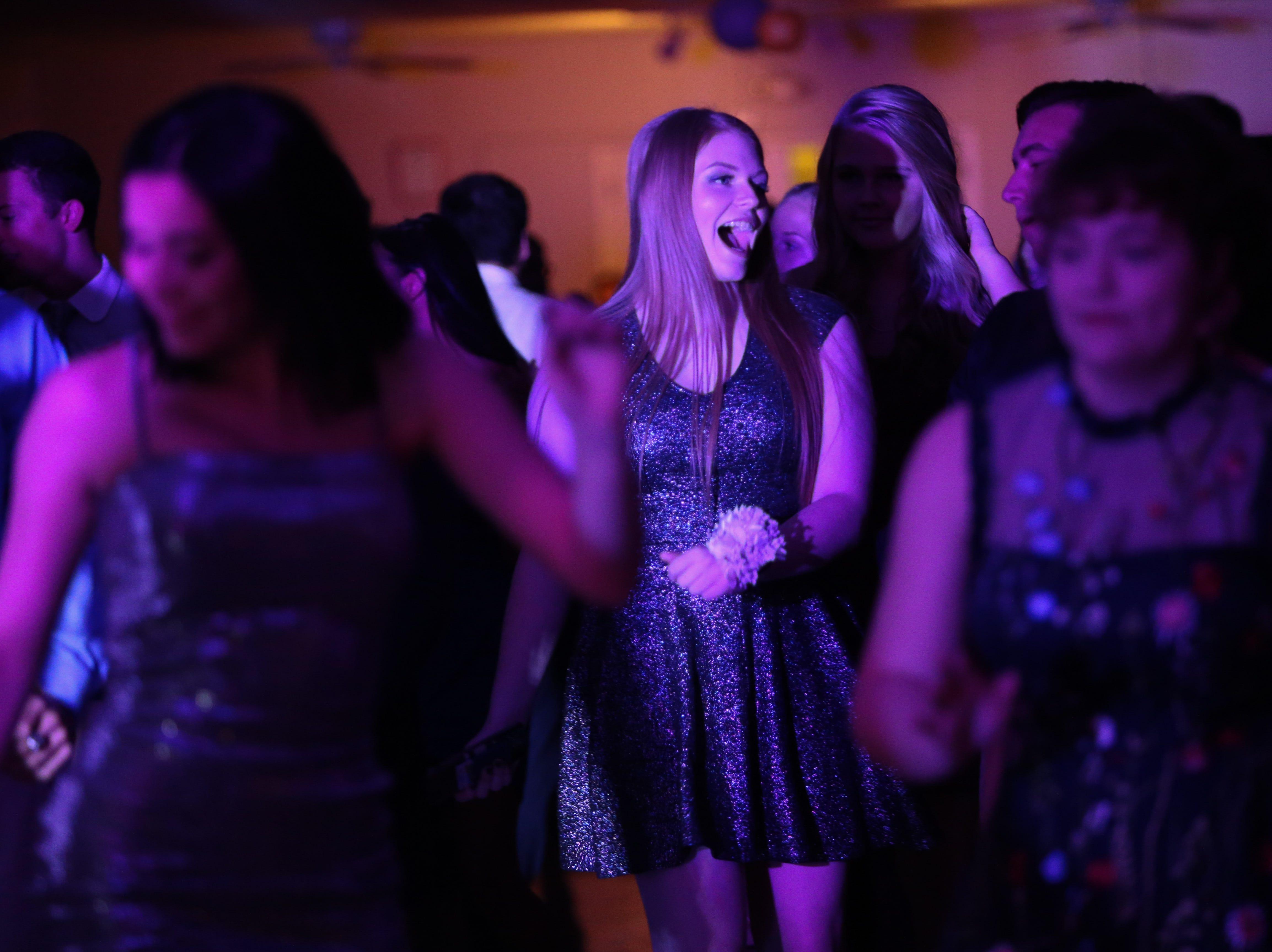St. Elizabeth School holds its homecoming dance at Grant Hall Saturday.