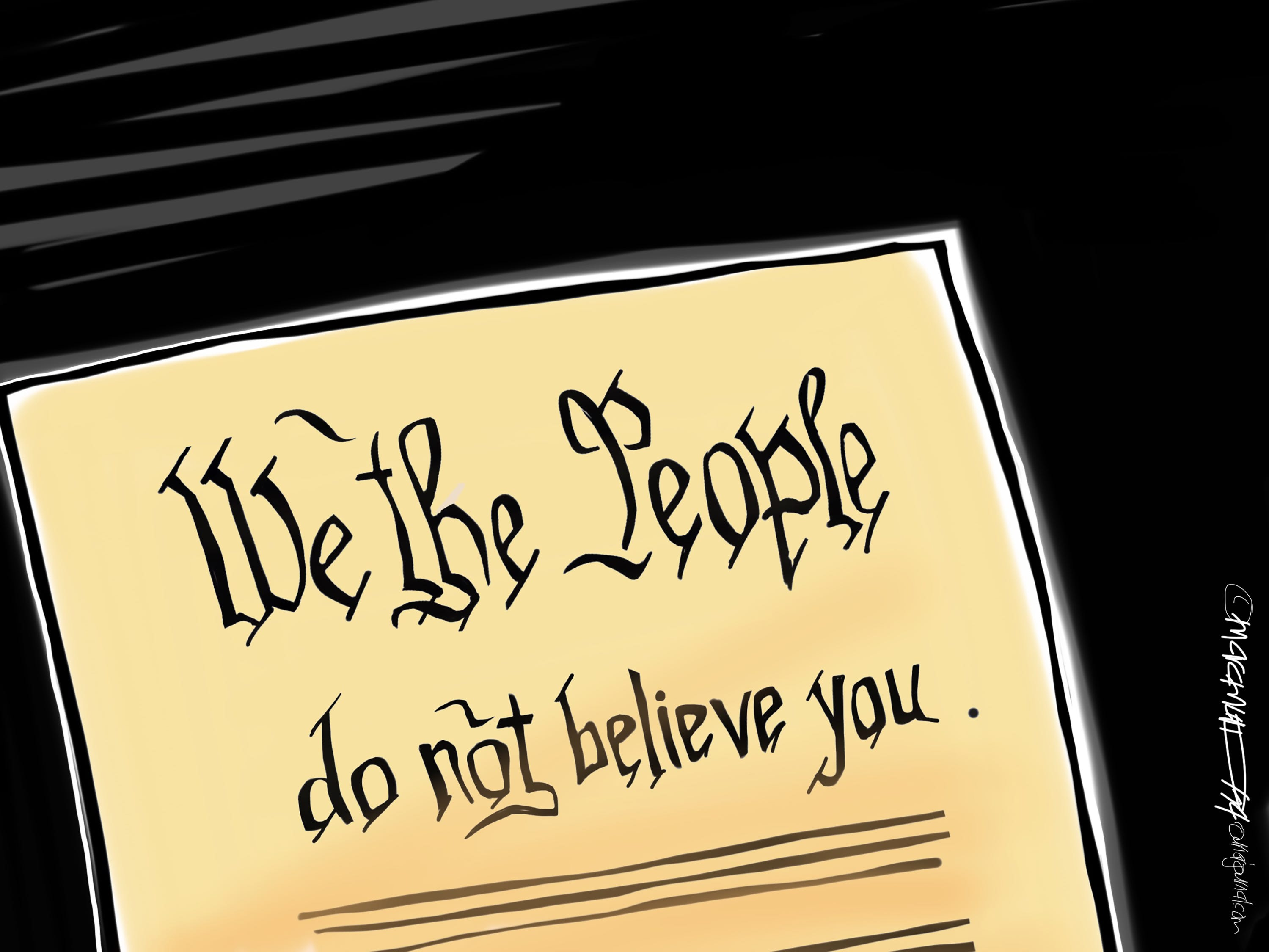 The cartoonist's homepage, courier-journal.com/opinion