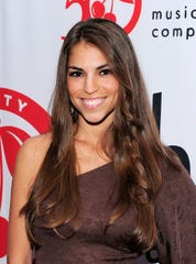 "Former ""American Idol"" contestant Antonella Barba was arrested for distribution of heroin in New Jersey Thursday, according to the Norfolk Sheriff's Office. Here, the singer  poses on the red carpet at the Cherry Lane Music Publishing's 50th Anniversary celebration on May 19, 2010 in New York City."