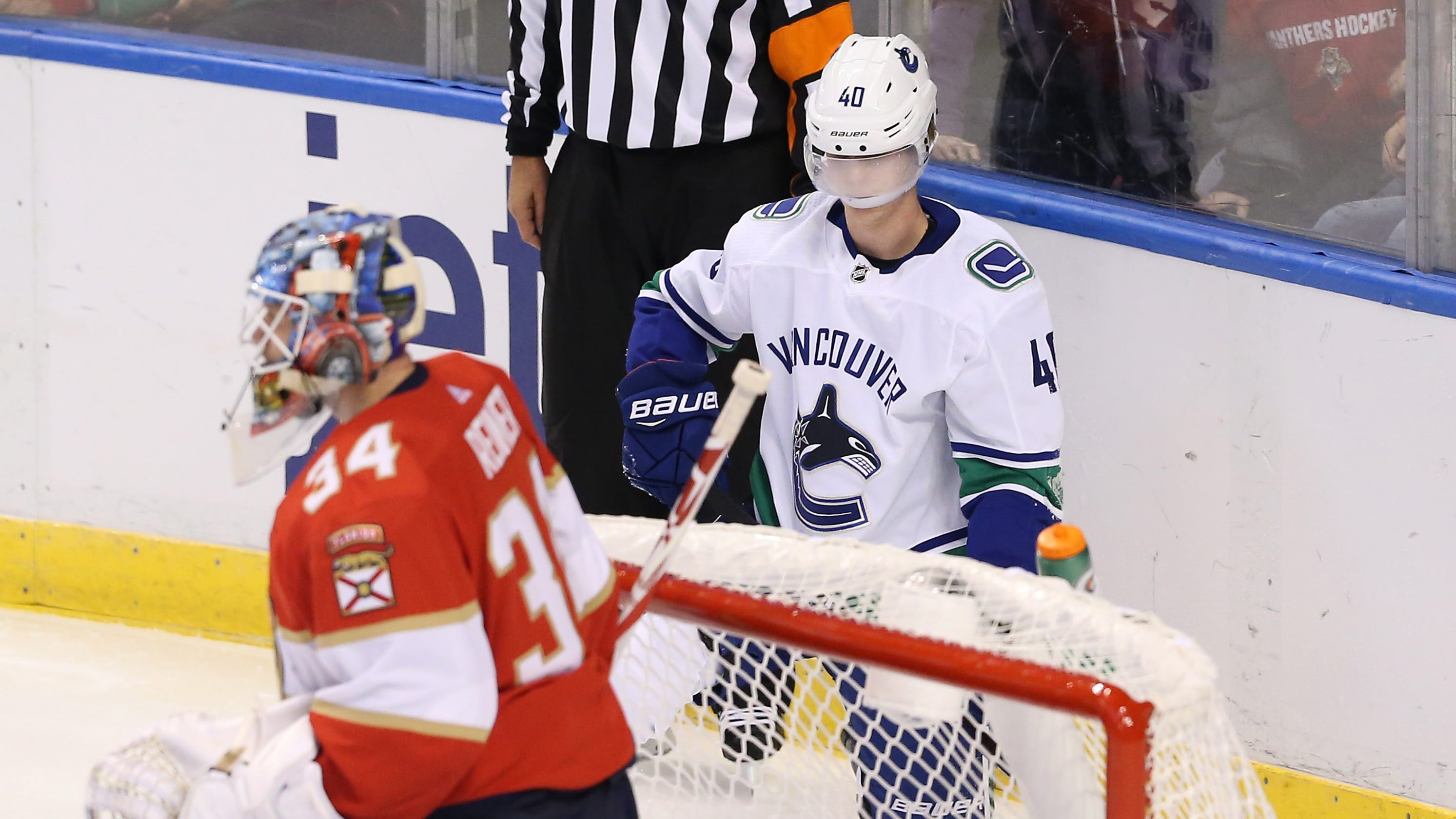 Canucks rip  dirty  hit on rookie Elias Pettersson   Looked like WWE to me  4a11a5dc3