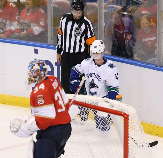 Usp Nhl Vancouver Canucks At Florida Panthers S Hkn Fla Van Usa Fl