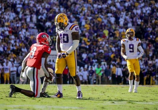 Ncaa Football Georgia At Louisiana State