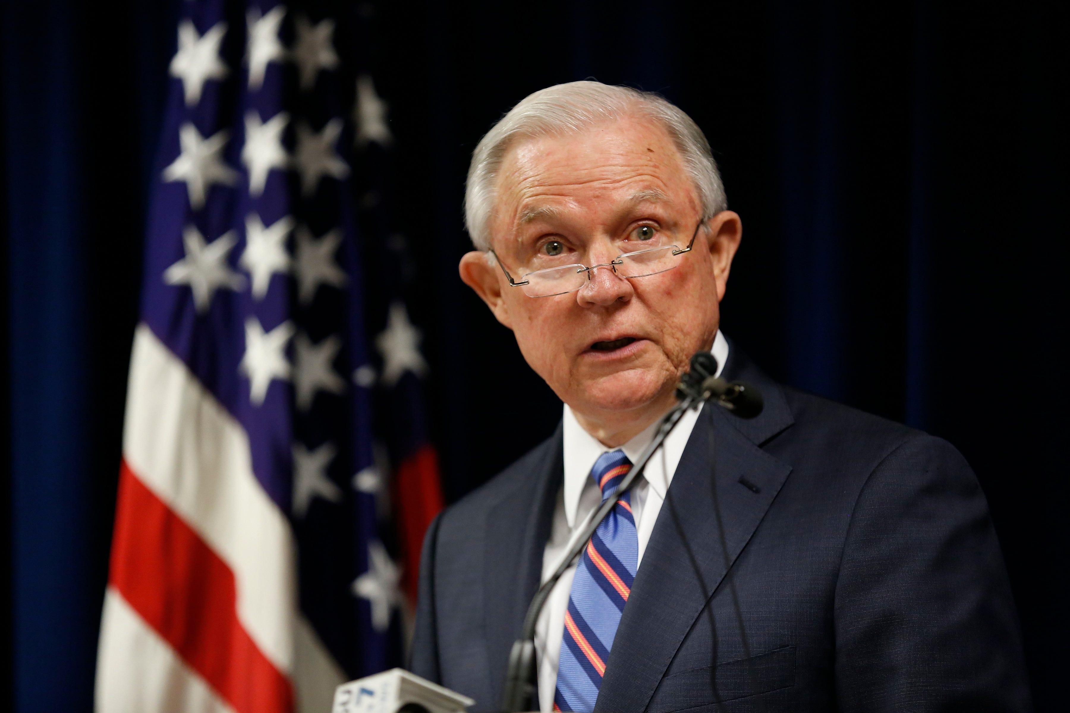 Sessions warns against judicial activism, 'unprecedented reviews'