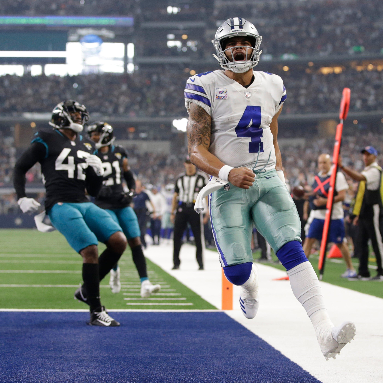 Dak, Cowboys dismantle Jacksonville