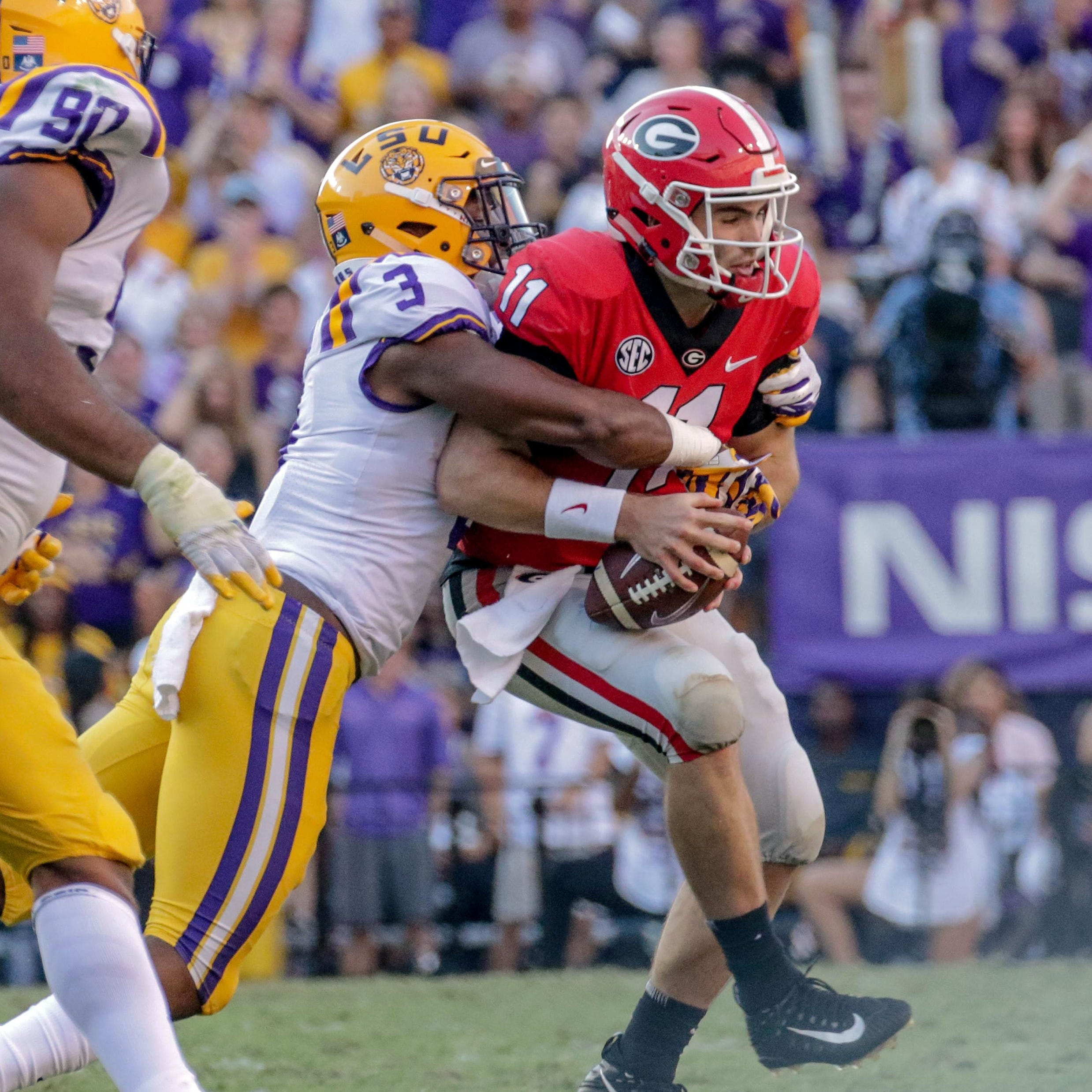LSU defense prepares for physical challenge vs. Mississippi State