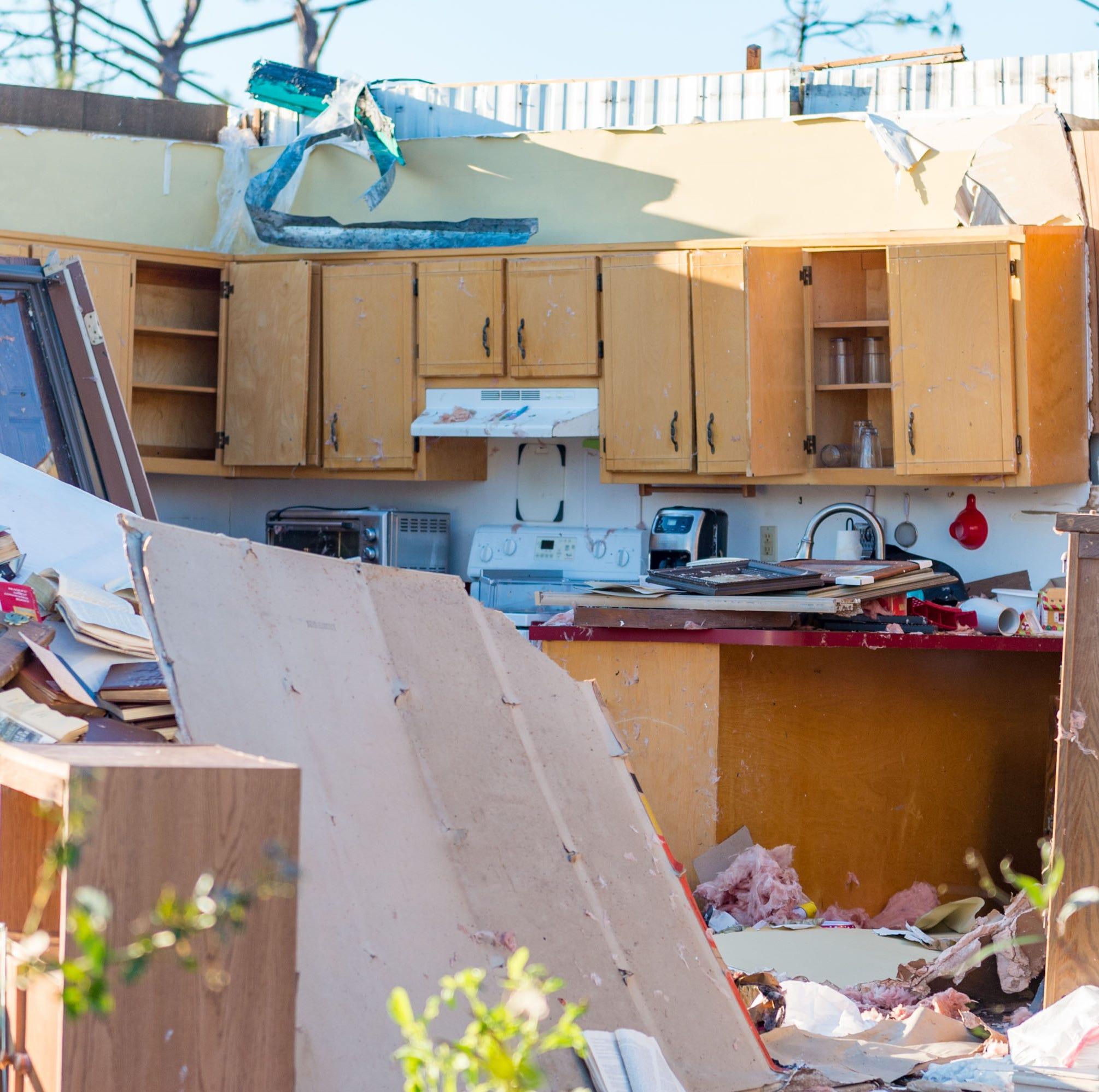 Widespread destruction is left behind in the wake of Hurricane Michael across Panama City, FL.  Saturday, Oct. 13, 2018.