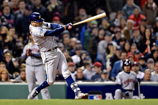 Mlb Alcs Houston Astros At Boston Red Sox