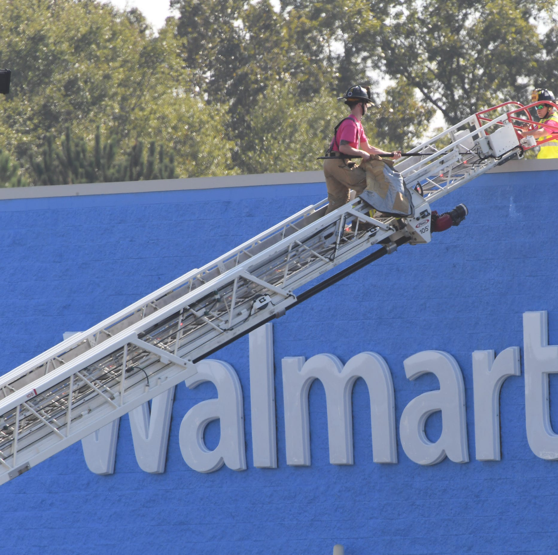 Fire at Anderson Walmart prompts police investigation, arson suspected
