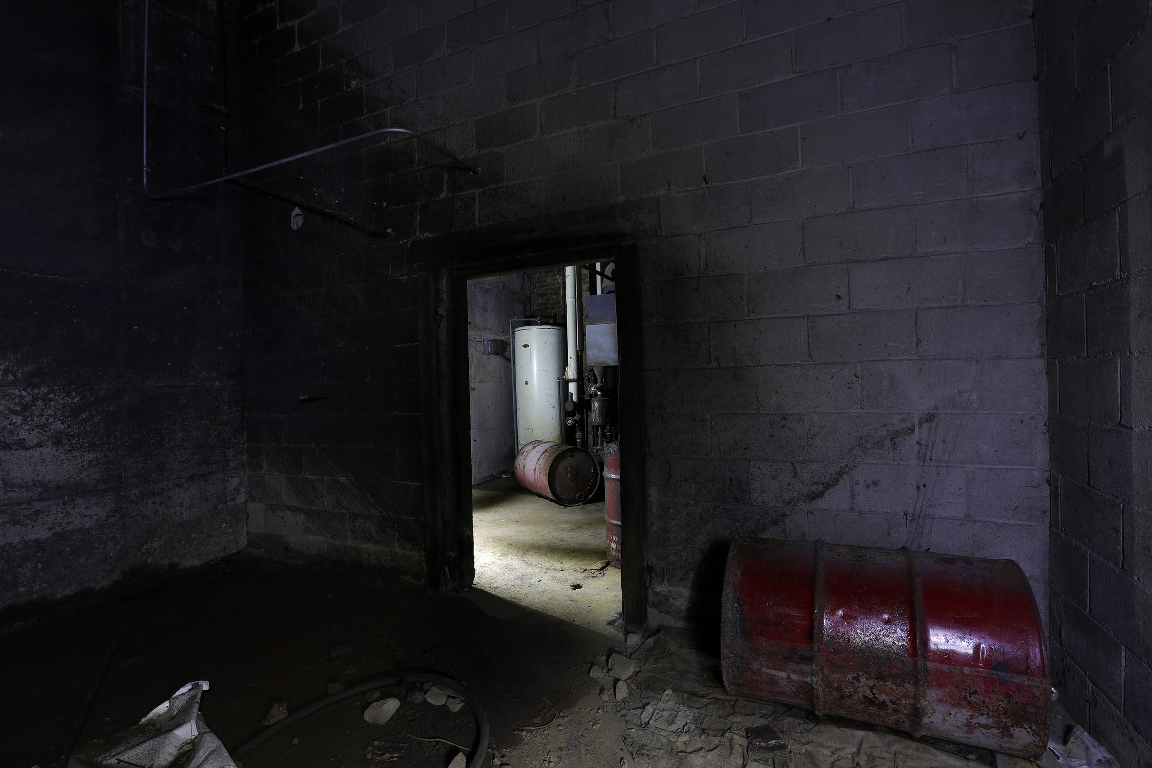 There are two basements under Katsu Ya in downtown Appleton. Combined, they reach about 35 feet into the earth.