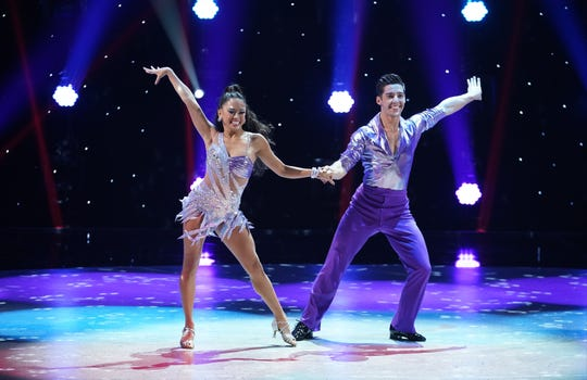 "Top 10 contestants Hannahlei Cabanilla and Cole Mills perform a Disco routine to ""Last Dance"" choreographed by Doriana Sanchez on ""So You Think You Can Dance."""