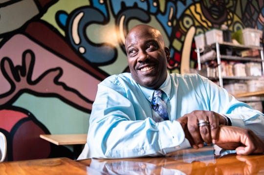 Quentin Miller, who was an Asheville police officer for 24 years, is a candidate for Buncombe County Sheriff.