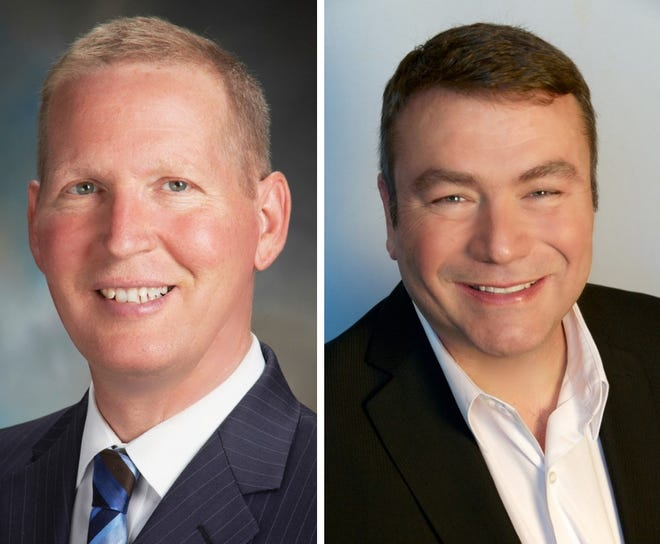 Democrat Jim Haadsma and Republican Dave Morgan vie to be state representative of the 62nd District.