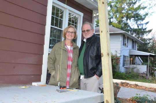 LaVon Hunt and her husband, Denny, are renovating their home this year with the help of a Battle Creek Public Schools housing incentive program.