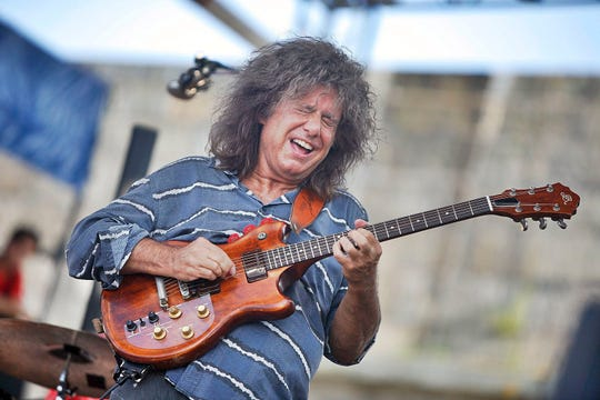 Pat Metheny performs at  the Newport Jazz Festival in 2012.
