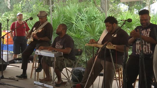 """The Lee Boys will perform their gospel, funk, and rock style known as """"sacred steel"""" at the third annual Florida Frontiers Festival."""