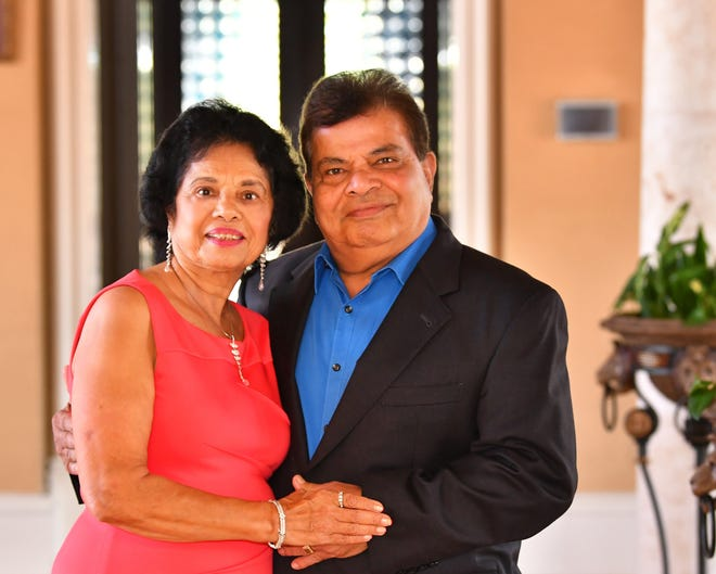 Mike and  Rashmi Shah will receive the 2018 Bjorg & Bjornar Hermansen Legacy Award on Nov. 14 at FLORIDA TODAY's annual Volunteer Recognition Awards ceremony.