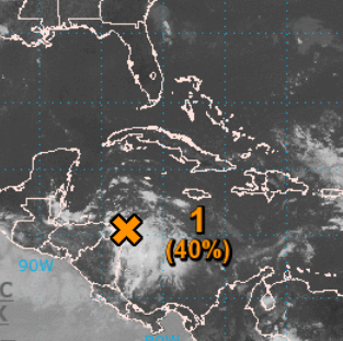 Disturbance near Honduras could become a tropical depression