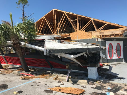 Irie Jammin' Sports Bar & Grill in Panama City has a long recovery ahead following Hurricane Michael.