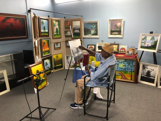 Original Highwayman Artist Isaac Knight will do a live demonstration at the third annual Florida Frontiers Festival.