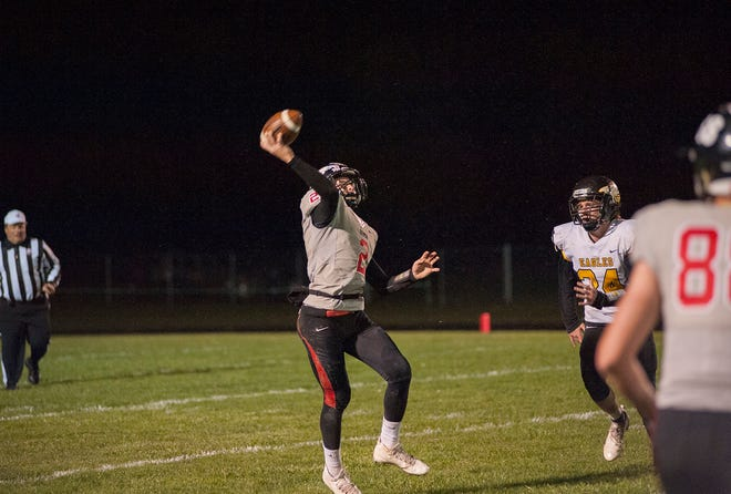 Bucyrus' Ben Seibert will be a key player on both sides of the ball Friday night.
