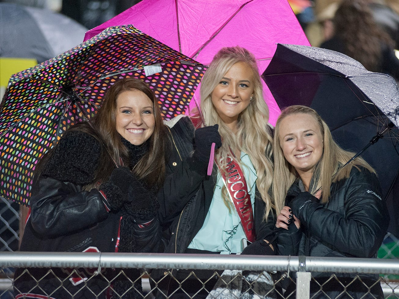 Bucyrus' homecoming queen candidates.