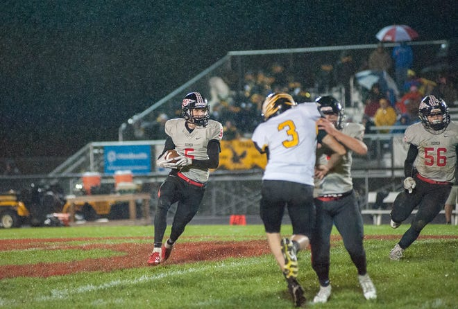 Keaton Naufzinger will be one of several weapons on offense for Bucyrus.