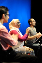 "Ping Chong + Company presents ""Beyond Sacred: Voices of Muslim Identity"" Thursday, Oct. 25 in Burlington."