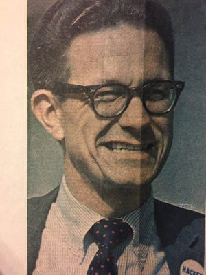 Luther Frederick Hackett is pictured in this 1972 clipping from the Burlington Free Press.