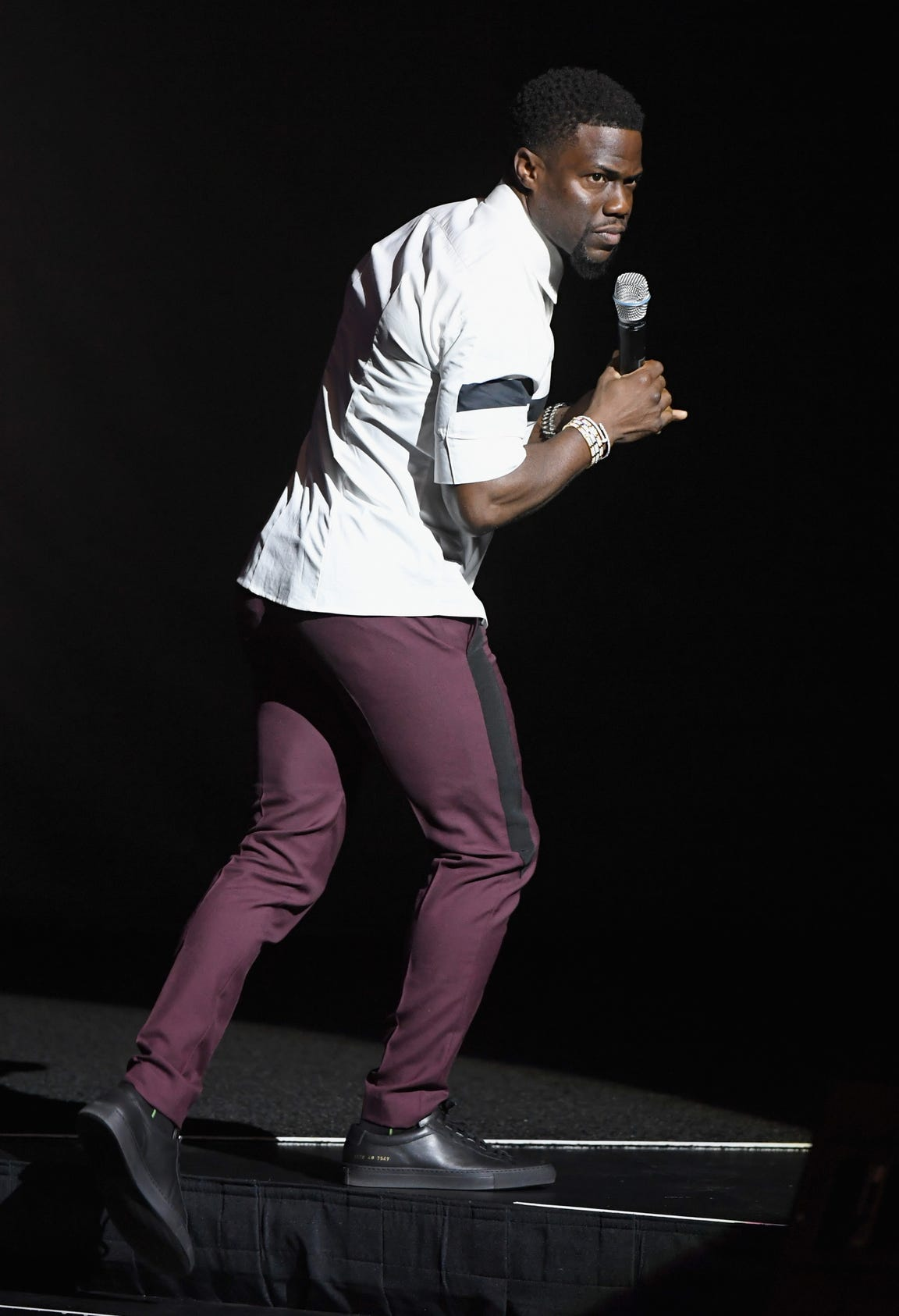 The Kevin Hart Irresponsible Tour begins at 7 p.m. Sunday, Oct. 21 at the American Bank Center.