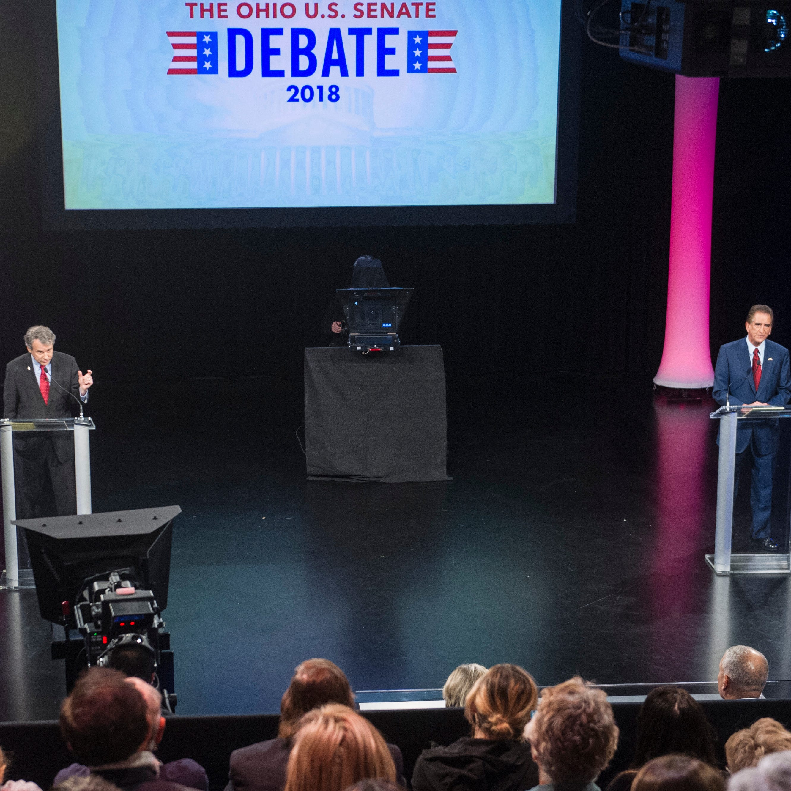Renacci/Brown debate turns tense. Brown tells Renacci 'You should be ashamed of yourself'