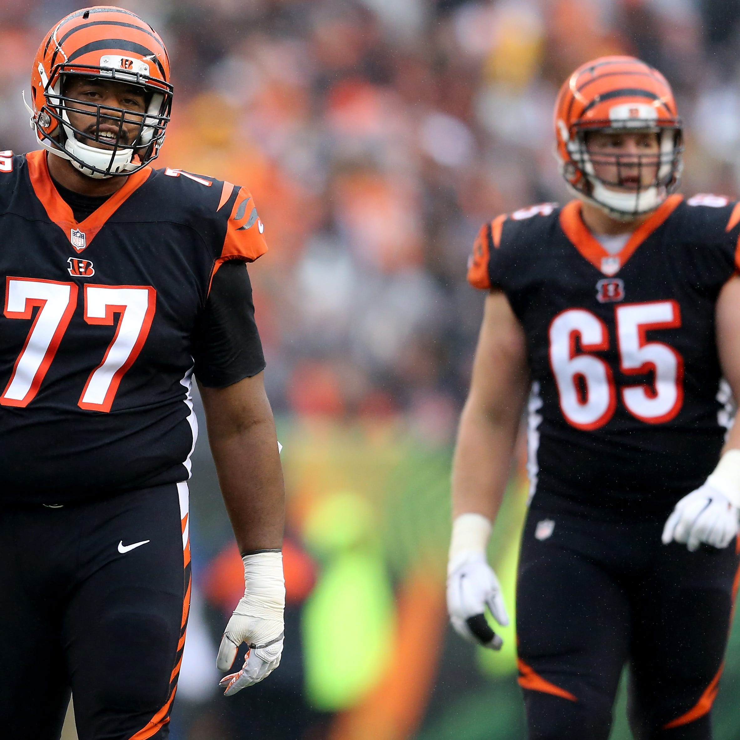 Cincinnati Bengals drop bomb of uncertainty in offensive line room