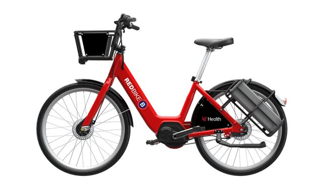 Red Bike is deploying a fleet of 100 e-bikes on Thursday.