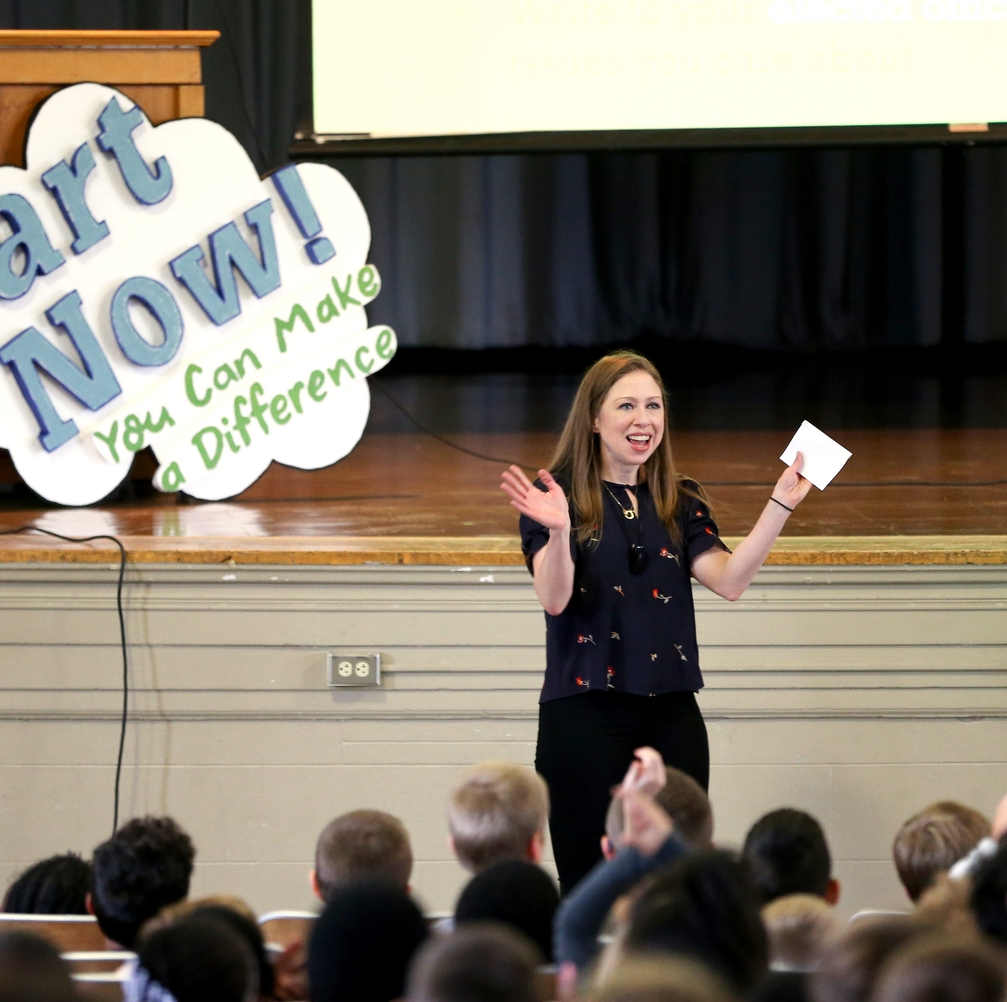 Chelsea Clinton to Colerain students: You can make a difference now
