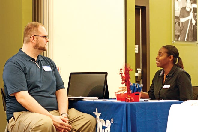 The Goodwill Career Solutions center at 2001 Needmore Road in Clarksville will host a job fair Tuesday, Oct. 16, for 14 employers seeking to fill more than 1,500 positions in Montgomery, Robertson, Davidson and nearby counties.