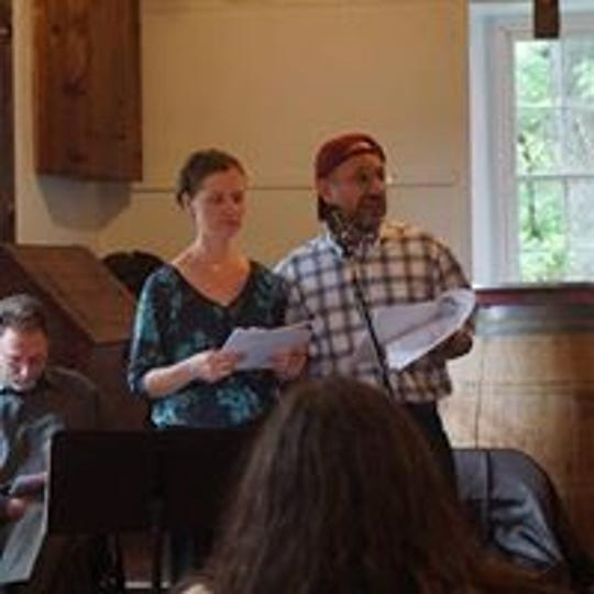 River Town Radio Theatre will be back at the Prallsville Mills on Sunday, November 4 from 2-4 p.m. with a program of music and original plays.