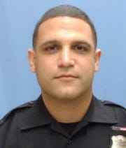 Hillside police officer Giovanni Esposito died after an early-morning accident on Route 1 today