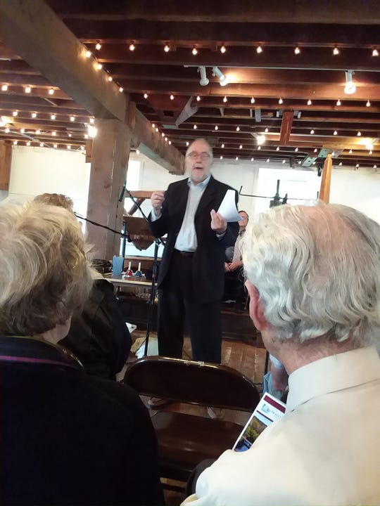 River Town Radio Theatre will be back at the Prallsville Mills on Sunday, November 4from 2-4 p.m. with aprogram of music and original plays.