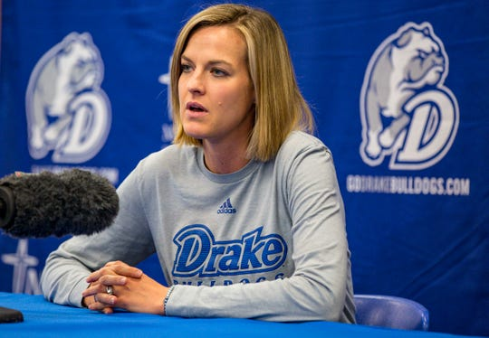 Drake coach Jennie Baranczyk's team will face a tough challenge on Friday night against Missouri State.