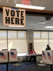 West Des Moines Senior Center. Satellite polling stations are open and ready for voters at 13 Polk County sites and the county elections office