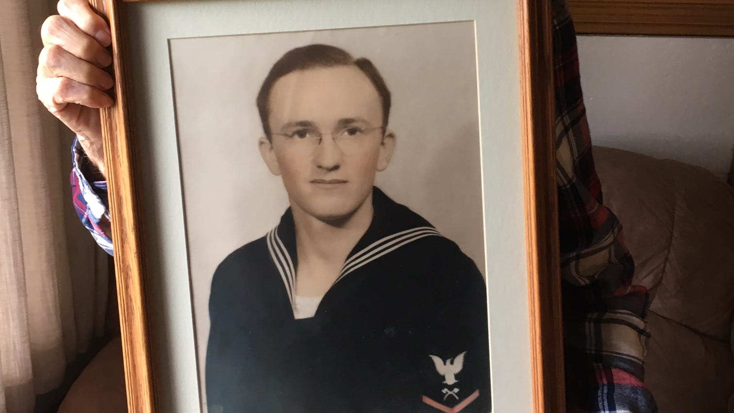 Iowa sailor, lost at Pearl Harbor, is returning home, where his brother will bury him