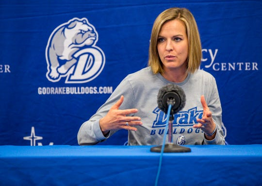 Drake coach Jennie Baranczyk has a lot of respect for Iowa State coach Bill Fennelly.