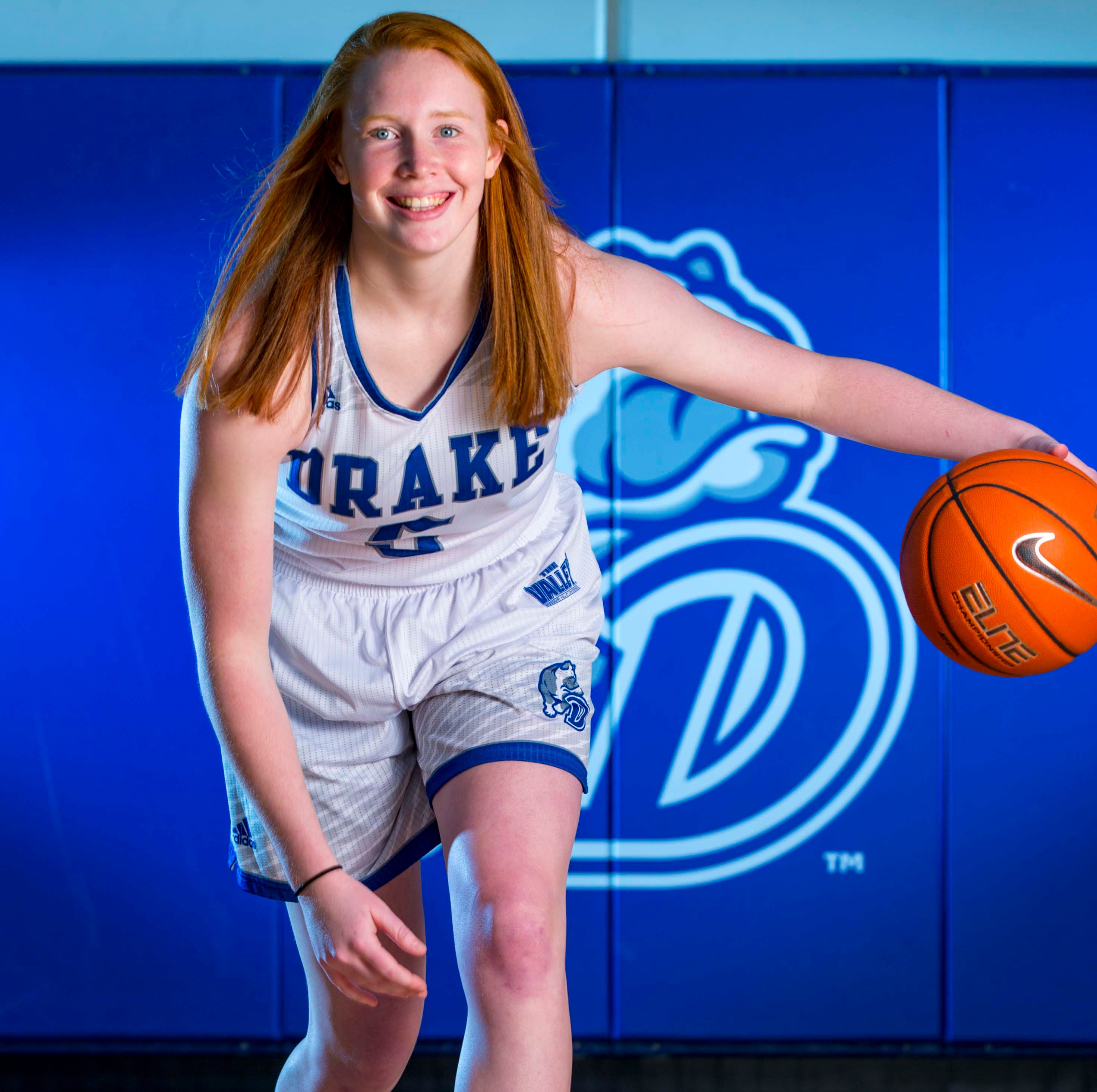 How Drake's Becca Hittner became the best player in the Missouri Valley Conference