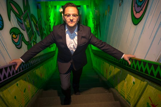 Jonathon Liedtke, 30, of Windsor is the owner of the six thousand square foot Higher Limits Cannabis Lounge, a cannabis lounge for medical marijuana users in Windsor Canada.