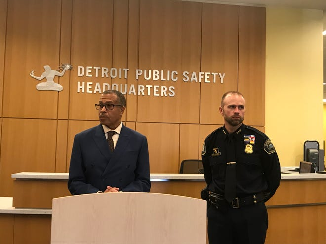 Detroit Police Chief James Craig earlier this month.